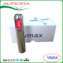 Wholesale E Cigarette Vmax - 2013 newest and hottest Variable Voltage & wattage and LED screen evape vmax e-cigarettes vv ego