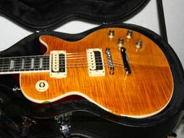 $enCountryForm.capitalKeyWord Australia - New Custom slash Electric Guitar with case high quality guitars one piece neck fret bingding wholesale guitars from china