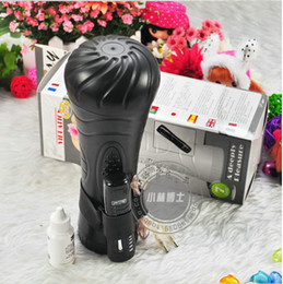 Wholesale Speed Vibrating Vagina - 2013 Free Shipping BAILE 7 speed vibrating vagina,male masturbators,pussy cup,adult sex toys for men,Sex products