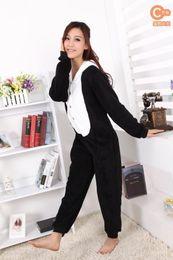 Japanese kigurumi onesie online shopping - Kigurumi Pajamas Anime Cosplay Costume unisex Adult Onesie Dress Panda S M L XL