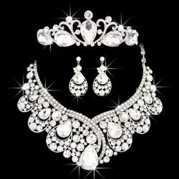 Diamond Tiara Necklace Set Online Diamond Tiara Necklace Set for Sale