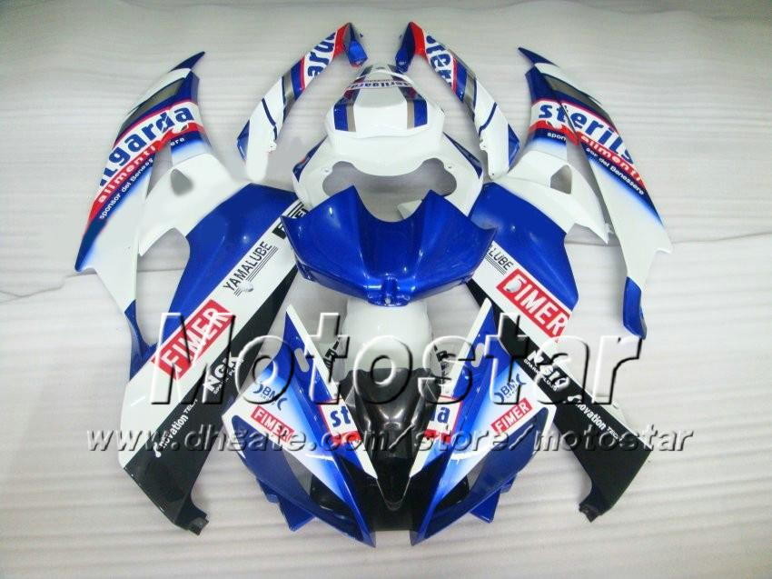 Kit carene racing YAMAHA 2006 2007 YZF-R6 06 07 YZFR6 06 07 YZF R6 YZFR600 mix colore Fimer carene personalizzate set ab66
