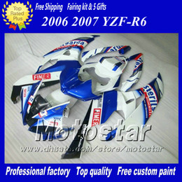 Kit carene racing per YAMAHA 2006 2007 YZF-R6 06 07 YZFR6 06 07 YZF R6 YZFR600 mix colore Fimer carene personalizzate set ab66 supplier yamaha fimer da yamaha fimer fornitori