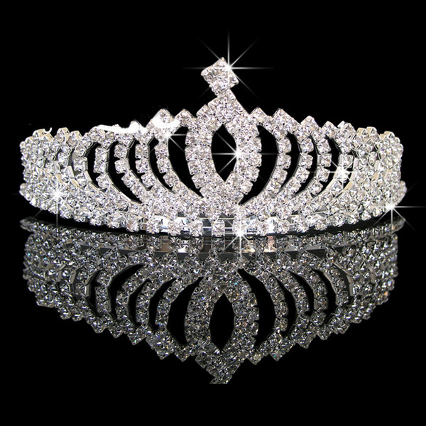 77d01d3580d Exquisite Shiny Rhinestone Bridal Crown Tiara Diamond Stone Wedding Headwear  Jewelry Bridal Tiaras Hair Accessories Wedding Gift HOT Sale