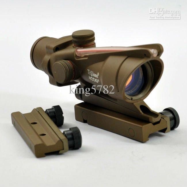 Trijicon ACOG TA31 1x32 rode dot scope tan