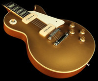 Wholesale Gold Top Oem - Gold Top CUSTOM shop Solid Body VOS Electric Guitar Chinese guitar OEM guitar