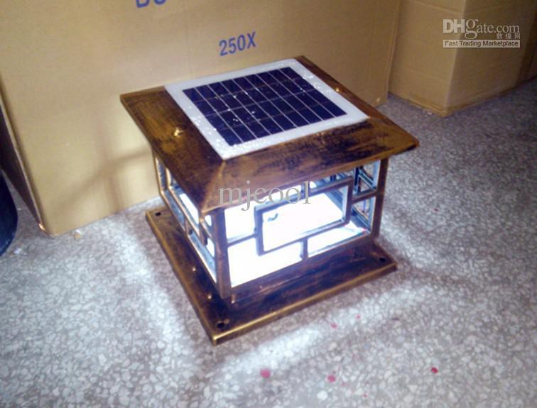 Solar LED maglia lampada da parete di energia luce luci esterni da giardino lampione di illuminazione