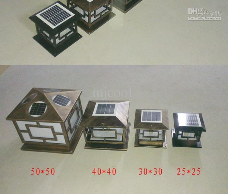 Solar LED de malla lámpara de pared de energía de luz luces exteriores de jardín Farola iluminación