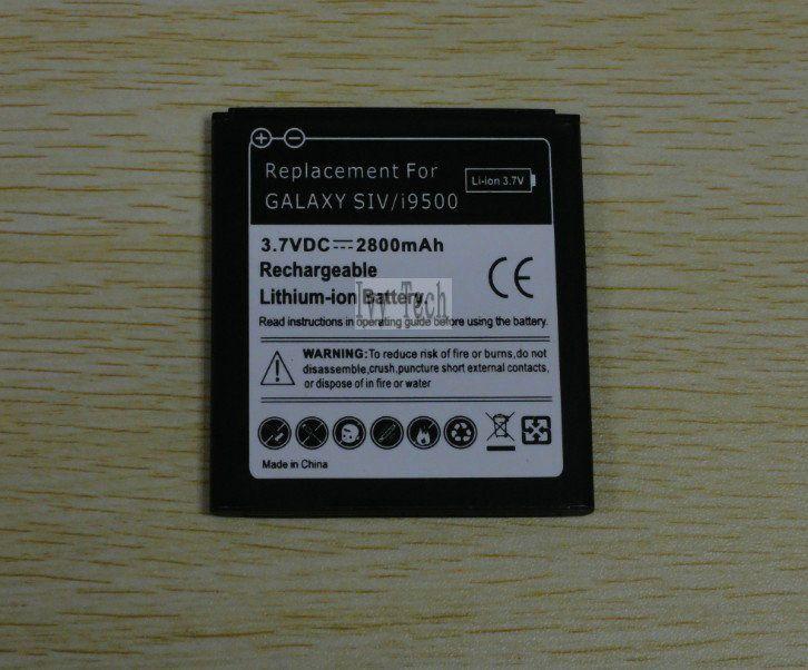 2800mAh Galaxy S 4 IV i9500 Battery for samsung Galaxy S4 S IV i9500 L720 I737 I545 Batteries /