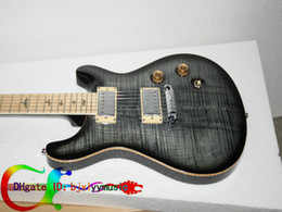 Wholesale Cheap String Electric Guitars - Custom Classic Electric Guitar In GRAY BURST Maple fingerboard New Arrival Free Shipping High Cheap