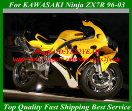 Wholesale Kawasaki Zx7r Fairings Orange - Fashion orange Fairing kit for KAWASAKI Ninja ZX-7R ZX7R 1996 1999 2000 2003 ZX 7R 96 99 00 03 Fairings set