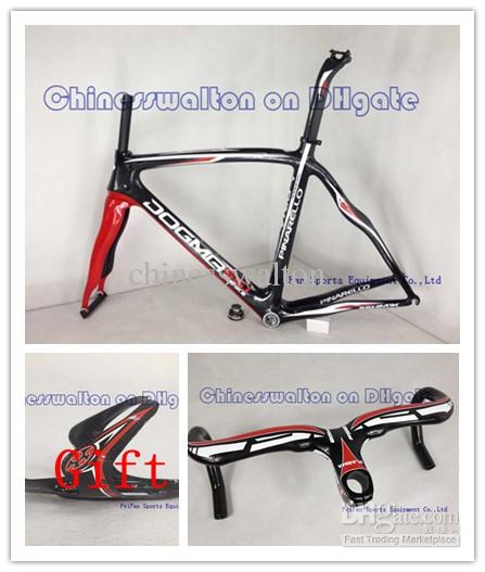 2013 Carbon Road Bike Frame +Handlebar Mix Full Carbon Fiber ...