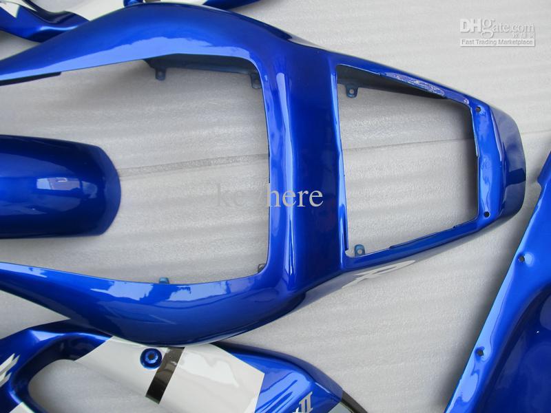 Fairings Kit for YZF R6 YZF-R6 1998 1999 2000 2000 2000 2000 Blue Black 868A