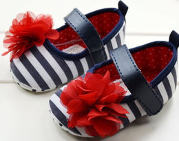 $enCountryForm.capitalKeyWord Canada - 30% OFF! 6pairs 12pcs Big red flower zebra baby shoes baby shoes  cheap shoes baby wear baby shoes shoes sale discount shoes china shoes