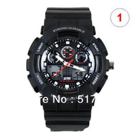 Wholesale Watch Outside Sport - Free shipping ! NEW shock SKMei watches Men's sports G style watch outside led watch