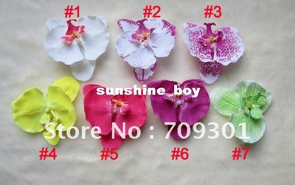 Free Shipping!5 Colors For Your Choose 4.8`` Big Baby Flower Rose Flower Hair Clip Peony Flower Hair Accessory