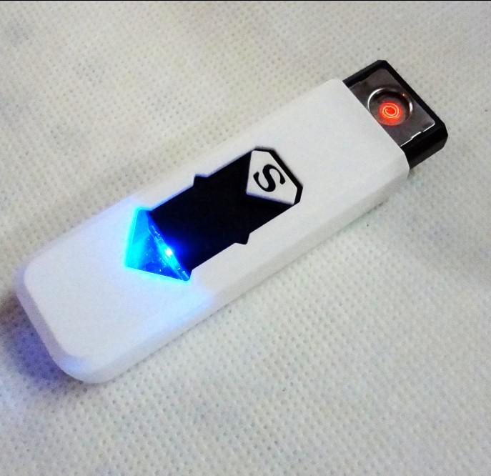 Portable USB Rechargeable Batterie Cigarette Sans Flamme Briquet / /