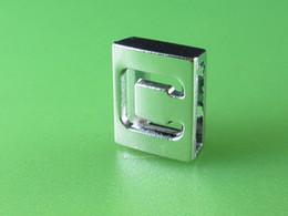 """Wholesale Hollow 8mm Slide Letter - 20PCS """"C""""Hollow 8MM Slide Letters SL0185 Fit DIY Wristbnad   Bracelet LSSL010-C*20"""