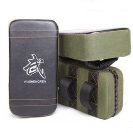 Wholesale Kick Boxing Bags - New Muay Thai Boxing TKD Training Gear Punching Bag Kick Pad Foot Target Green Black Free Shipping(Single)