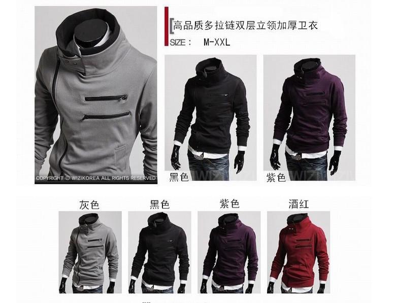 2017 2015 Korean Style Men Mens Workout Clothes Men Double Layer ...