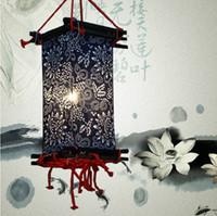 ingrosso bar a casa artigianale-Lanterne cinesi fatte a mano lanterne teahouse lanterne di stoffa lanterna cinese lanterna bar lampade casa del caffè lampada casa lampada della casa