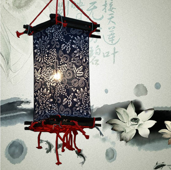 Handmade classical Chinese lanterns teahouse lanterns cloth lanterns chinese lantern lantern bar lamps coffee house lamp home house lamp