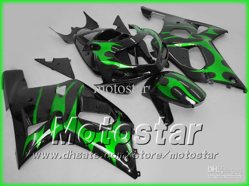 【送料無料】鈴木GSXR 600 750 K1 GSXR600 01 02 03 GSX-R750 Body GSX-R600 2001 2002 2003