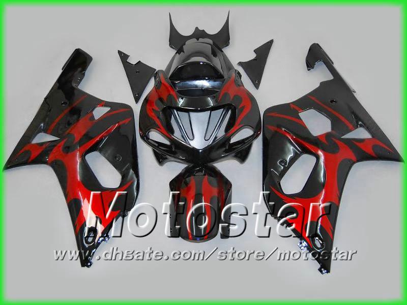 スズキGSXR 600 750 K1 GSXR600 GSXR750 01 02 2002 2003 2003 Body Fairings