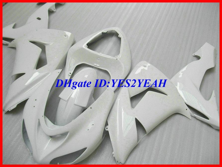 El nuevo kit completo de carenado blanco para KAWASAKI Ninja ZX10R 06 07 ZX-10R 2006 2007 ZX 10R 06 07 carenados