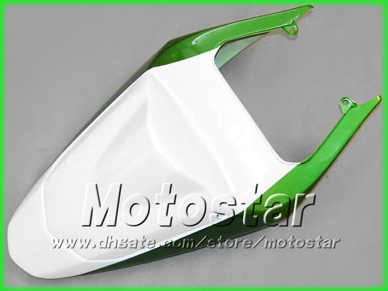 Green White Wishings dla Suzuki 2004 2005 GSXR 600 750 K4 GSXR600 GSXR750 04 05 R600 R750 Road Racing Wallmarket Fairing