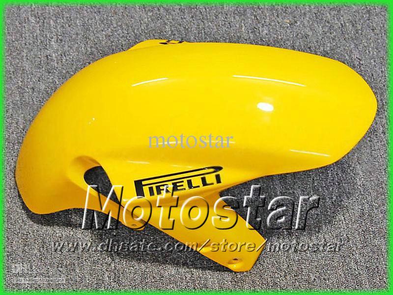 Yellow Corona Fooding Zestawy dla Suzuki 2004 2005 GSXR 600 750 K4 GSXR600 GSXR750 04-05 R600 R750 2004 2005 Owalnia przez EMS