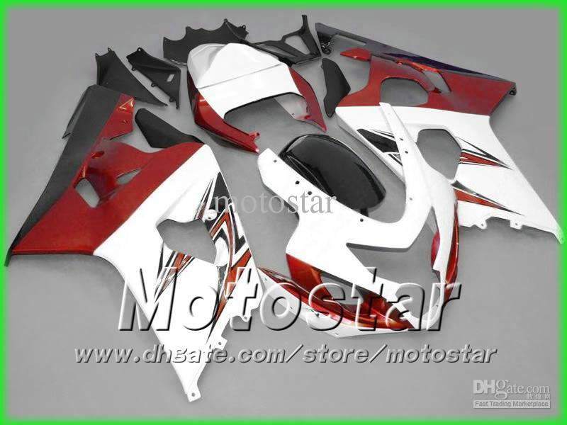 Hot Selling Fairing Bodywork Kit för Suzuki GSXR 600 750 K4 2004 2005 GSXR600 GSXR750 04-05 R600 R750 Fairings