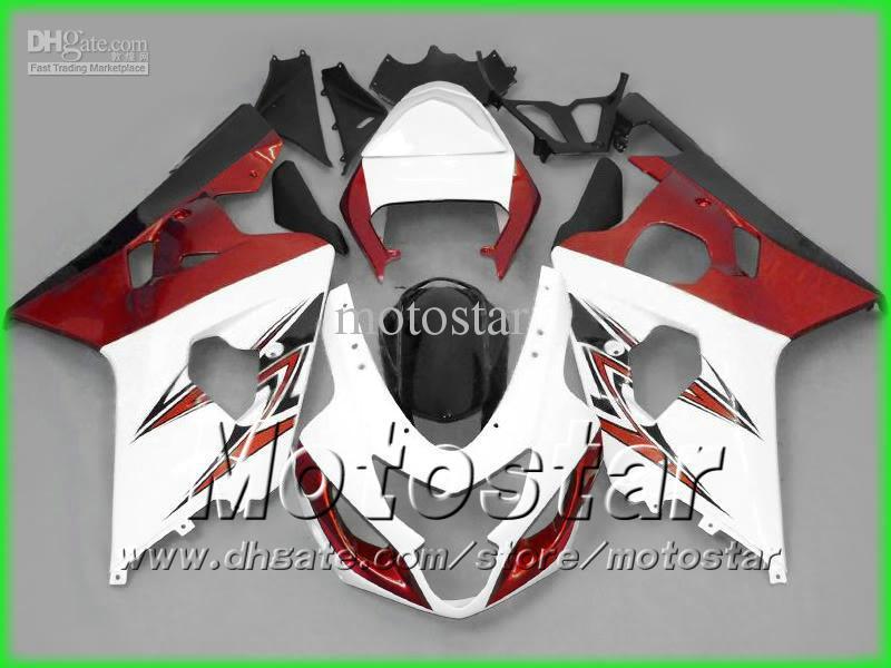 鈴木GSXR 600 750 K4 2004 2005 GSXR600 GSXR750 04-05 R600 R750フェアリゾーンのための熱い販売フェアリングボディワークキット