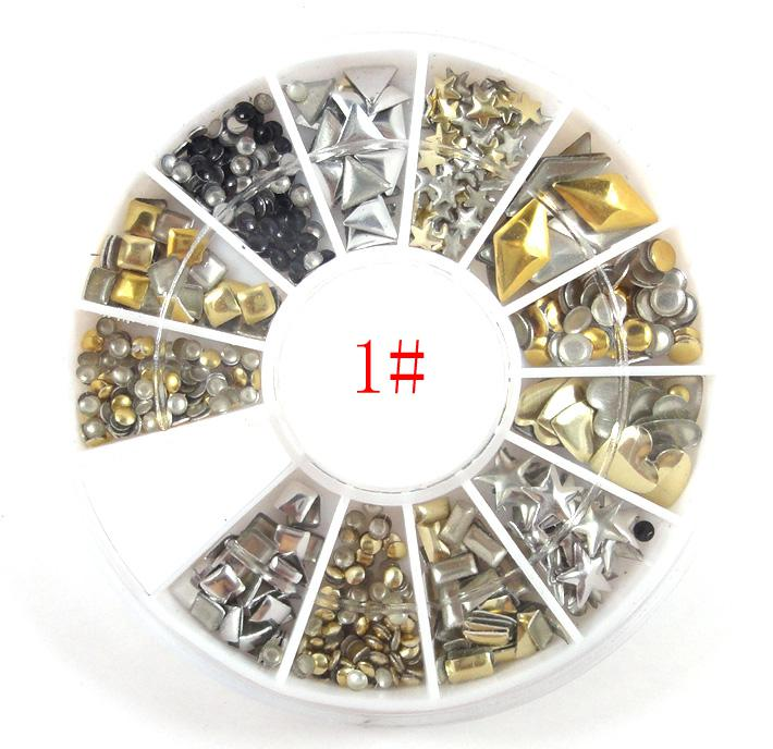Bk nail art supplies tools diy finger accessories metal nest nail see larger image prinsesfo Image collections
