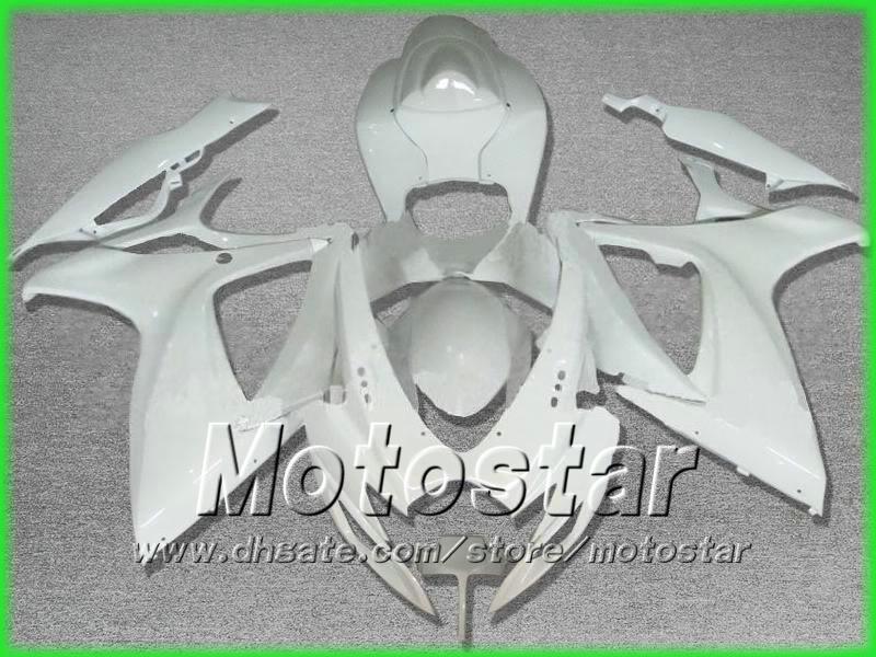 Pure Wit voor DIY Carrosserie Injectie Keuken Voor Suzuki 2006 2007 GSXR 600 750 K6 GSXR600 GSXR750 06 07 R600 R750
