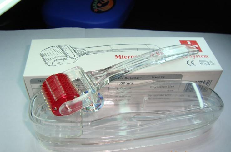 MRS 200 Titanium Legering Naalden Micro Naald Derma Roller Therapie Systeem Mesoroller