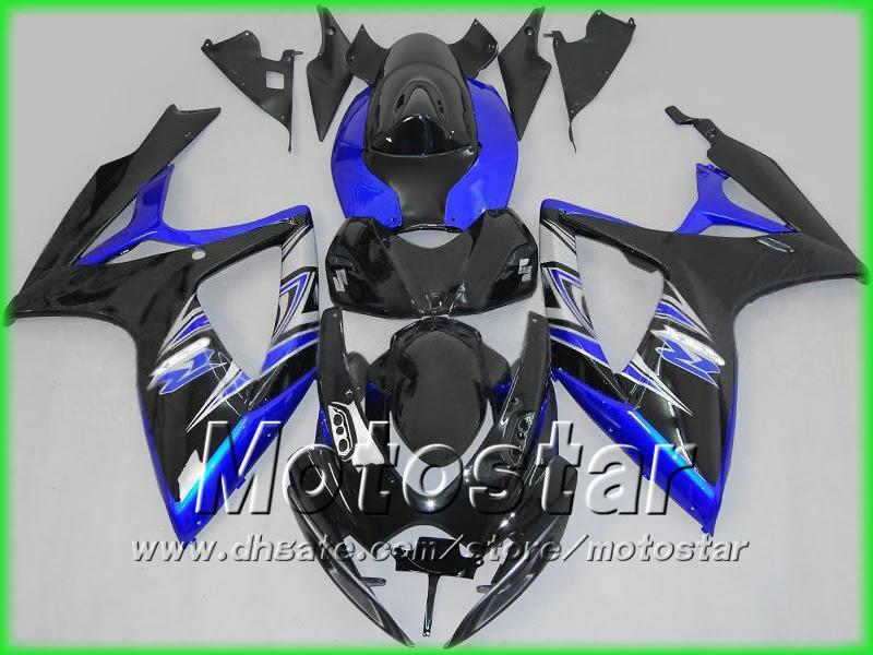 S6673 free ship injection bodywork fairing kit FOR suzuki 2006 2007 GSXR 600 750 K6 GSXR600 GSXR750 06 07 R600 fairings