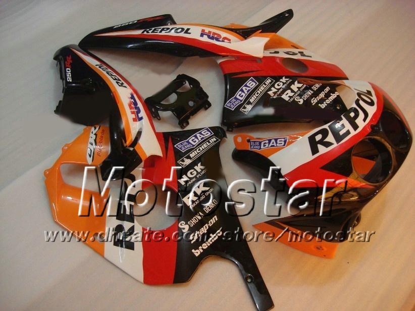 Carenatura aftermarket 7gift Honda CBR250RR MC22 CBR 250RR 91 92 93 94 95 96 97 97 CBR250 MC22 carenature personalizzate bodykit ad6