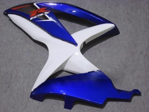White blue ABS fairing kit for Suzuki GSXR 600 750 2008 2009 K8 GSXR600 GSXR750 08 09 10 GSX-R750 GSX-R600 motorcycle fairings set