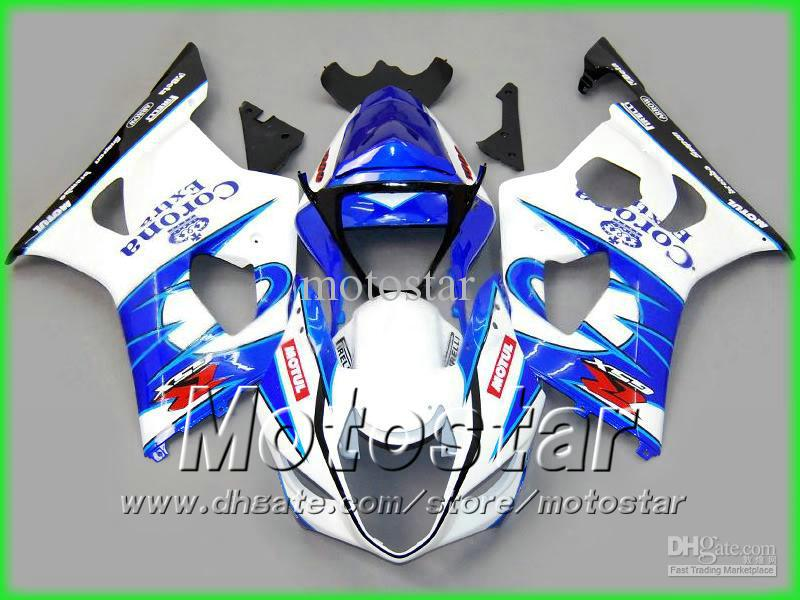 Corona extra motorcycle fairing kit for suzuki 2003 2004 GSX-R1000 K3 GSXR1000 GSXR 1000 03 04 body repair fairings kit