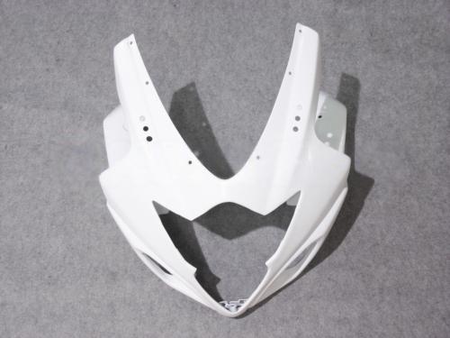 모든 흰색 페어링 for 스즈키 GSXR1000 2005 2005 K5 7 선물 + 시트 카울 GSXR 1000 05 06 GSX-R1000 차체 페어링 키트 5 선물