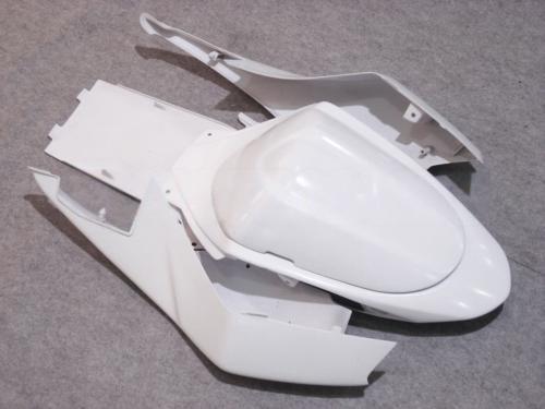 Injektionsgjutning All White Fairing för Suzuki 2005 2006 GSX-R1000 K5 GSXR1000 GSXR 1000 05 06 Full set Fairings