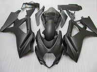 Wholesale Matte Black Fairings Gsxr - All Matte black fairing kit FOR GSX-R1000 K7 GSXR1000 2007 2008 GSXR 1000 07 08 +windscreen