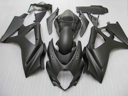 carenado k7 Rebajas Kit de carenado negro mate para GSX-R1000 K7 GSXR1000 2007 2008 GSXR 1000 07 08 + parabrisas