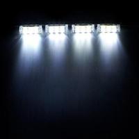 Wholesale Led Emergency Vehicle Strobe - 4*3 LED White 3 Modes Emergency Vehicle Boat Truck Car Strobe Lights