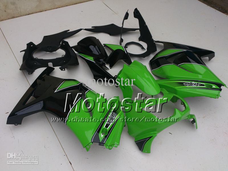 Green Fairing kit for KAWASAKI Ninja ZX 250R 2008 2009 2010 2011 2012 EX250 08 09 10 11 + free windscreen