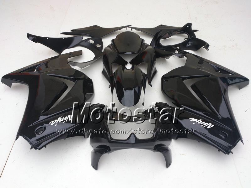 Black Fairing kit for KAWASAKI Ninja 250R EX 250 2008 2009 2010 2011 2012 EX250 08 09 10 11 12 Free windscreen