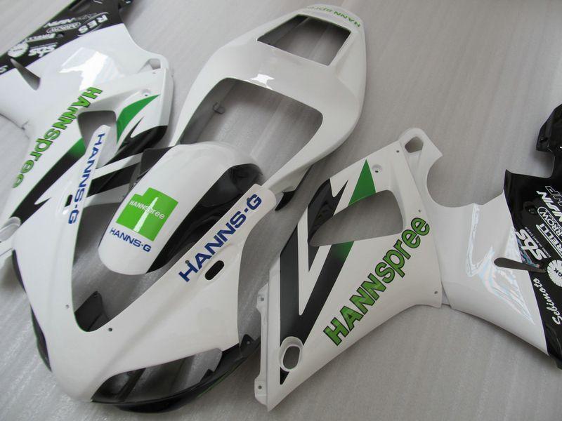 HANNSpree Fairings for Yamaha 1998 1999 YZF R1 YZFR1 98 99 YZF-R1 full fairing kit +Free gift