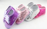 ingrosso china dei pattini del bambino-Sconto del 10%! Scarpette paillettes scintillanti, scarpe da passeggio, scarpe da bambino, vendita scarpe, scarpe cinesi, scarpe economiche! 6pair / 12pcs