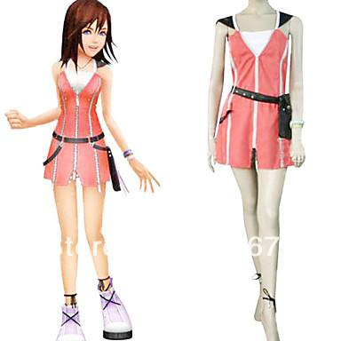 Kingdom Hearts 2 Kairi Pink Dress Cosplay Costume Online With 87 33
